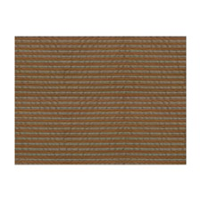 Copper Blue Stripes Decorator Fabric by Brunschwig & Fils