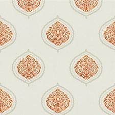 Apricot Geometric Decorator Fabric by Kravet