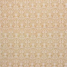 Goldenrod Damask Decorator Fabric by Laura Ashley