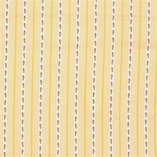 Maize Stripes Decorator Fabric by Laura Ashley