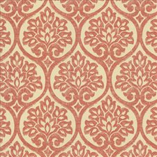 Coral Decorator Fabric by Kasmir