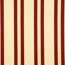 Red Stripes Decorator Fabric by Baker Lifestyle