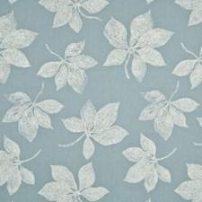 Aqua Botanical Decorator Fabric by Baker Lifestyle