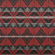 Cochineal Red Decorator Fabric by Ralph Lauren