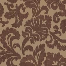 Brown Print Decorator Fabric by Kravet