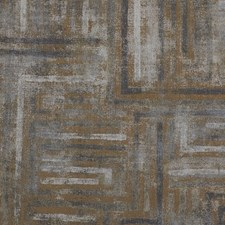 Gold/Grey/Charcoal Geometric Decorator Fabric by Kravet