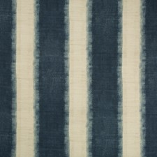 Indigo/Neutral Contemporary Decorator Fabric by Kravet