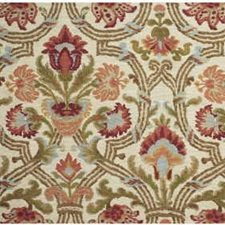 Red/Olive Print Decorator Fabric by Lee Jofa