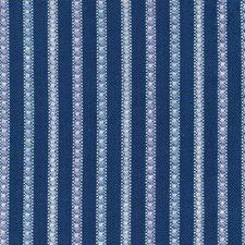 Mariner Blue Decorator Fabric by Kasmir