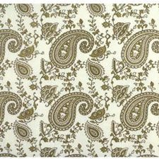 Gold Paisley Decorator Fabric by Lee Jofa