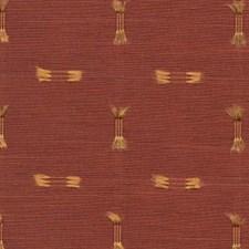 Firebrick Decorator Fabric by RM Coco