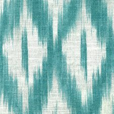 Turquoise Decorator Fabric by Stout