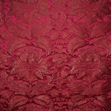Magenta Damask Decorator Fabric by Pindler