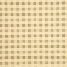 Taupe Check Decorator Fabric by Parkertex