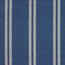 Blue Stripes Decorator Fabric by Baker Lifestyle