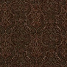 Burgundy/Red Paisley Decorator Fabric by Kravet