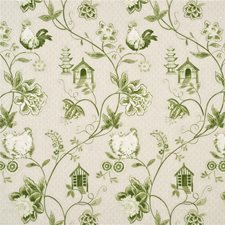Green Decorator Fabric by Baker Lifestyle