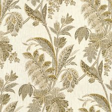 Ivory/Stone Print Decorator Fabric by Baker Lifestyle