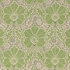 Green Print Decorator Fabric by Baker Lifestyle