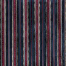 Prince Regent S-Midnigh Stripes Decorator Fabric by Lee Jofa