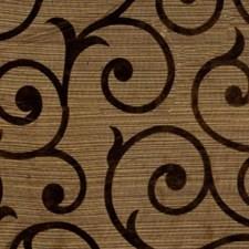Mocha/Chocolate Decorator Fabric by RM Coco