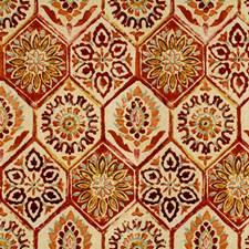 Burgundy/Red/Pink Bargellos Decorator Fabric by Kravet