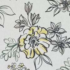 Metal Floral Large Decorator Fabric by Duralee
