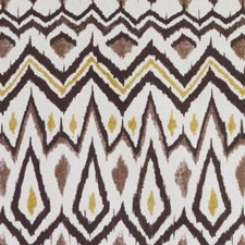 Black/Gold Ethnic Decorator Fabric by Duralee