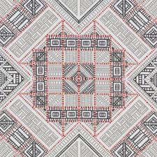 Red Diamond Decorator Fabric by Duralee