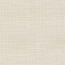 Cream Polyester Decorator Fabric by Kasmir