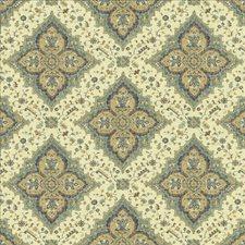 Classic Navy Decorator Fabric by Kasmir