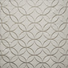 Silver Decorator Fabric by Kasmir