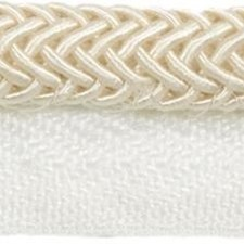 Cord With Lip White Trim by Kravet