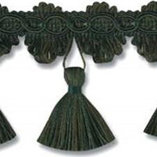 Tassel Fringe Green Trim by Kravet