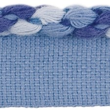 Cord With Lip Tide Blue Trim by Lee Jofa