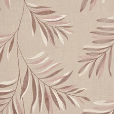 Aubergine Creme Decorator Fabric by RM Coco