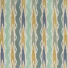 Verdigris Ikat Decorator Fabric by Kravet