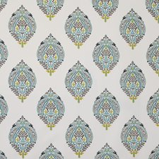 Turquoise Decorator Fabric by Maxwell