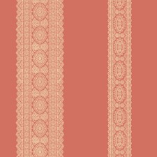 Coral Transitional Wallpaper Wallcovering by Brewster