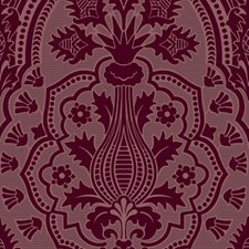 Claret Damask Wallcovering by Cole & Son Wallpaper