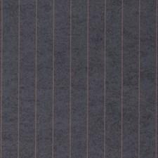 Pinstripe Copper On Ebony Wallcovering by Phillip Jeffries Wallpaper