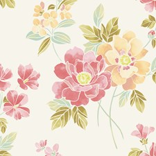 Apricot Wallcovering by Brewster