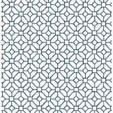 Navy Tile Wallcovering by Brewster