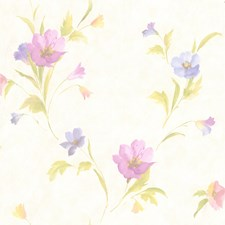 Peach Kitchen and Bath Wallcovering by Brewster