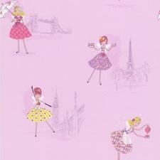 Purple Kids Wallpaper Wallcovering by Brewster