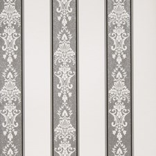 Cream Black Floral Wallcovering by Fabricut Wallpaper