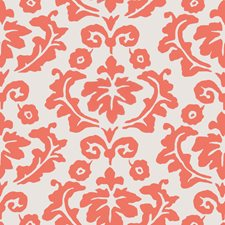 Persimmon Floral Wallcovering by Stroheim Wallpaper