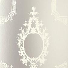 Mirror Wallcovering by Schumacher Wallpaper