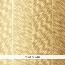 White Gold Wallcovering by Schumacher Wallpaper