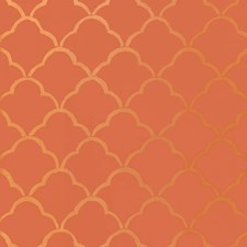 Cinnabar Wallcovering by Schumacher Wallpaper